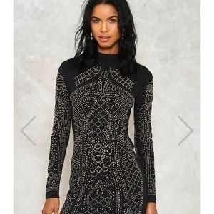 Black bedazzle dress
